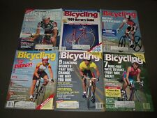 1989 BICYCLING MAGAZINE LOT OF 10 - CYCLE - GREAT COVERS & PHOTOS - PB 190X