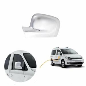 For VW Caddy wing mirror cover cap chrome / Left BA09L