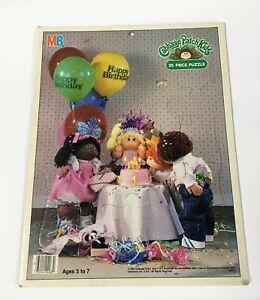 Vintage 1984 Cabbage Patch Kids Happy Birthday 25 Piece Puzzle