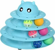 Cat Toy Roller Cat Toys 3 Level Towers Tracks
