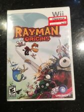 Rayman Origins Nintendo Wii Brand New Factory Sealed
