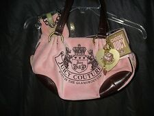 "vtg JUICY COUTURE pink HANDBAG/hand bag/purse (YHRU159) TAGS & ""Ciao"" Phone Case"