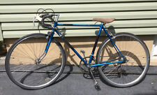 """Tall Men's Vintage Raleigh road racing bike Bicycle frame for person 5'7"""" & up!"""