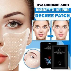 5Pcs Hyaluronic Acid Microcrystalline Lifting Decree Patch