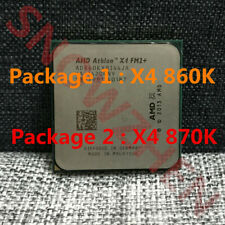 AMD Athlon X4 860K X4 870K CPU Quad-Core 4M Socket FM2+ Processors