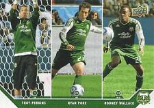 2011 Upper Deck Major League Soccer Portland Timbers Perkins Pore Wallace Promo