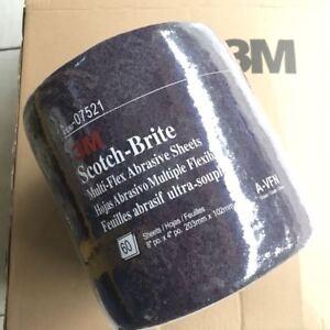 "Scotch-Brite Maroon Sheet 4"" x 8"" 3M 07521  Multi-Flex  $52.95 Free Delivery"