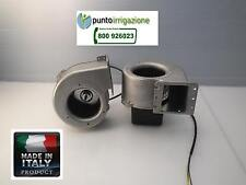 Ventilatore centrifugo per caldaie a SANSA e STUFA A PELLET 80W Made in Italy CE
