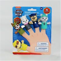 Paw Patrol Bath Time Finger Puppets: Rubble, Tracker, Sweetie, Chase and Everest