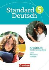 Standard Deutsch 5. Schuljahr. Arbeitsheft mit Lösungen. Grundausgabe von Birgi…