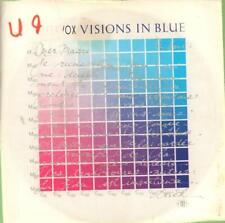"""Ultravox(7"""" Vinyl P/S)Visions In Blue-Chrysalis-CHS 2676-65-1983-VG/VG+"""