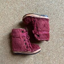 Blythe Red Fur Boots