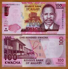 Malawi, 100 Kwacha, 2017, P-59-New, UNC