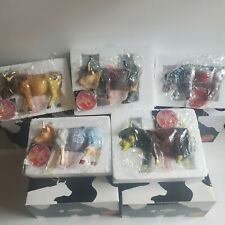Wizard of Oz Cows Lot of 5 Cow Parade NRFB Stored since New Kansas City 2002