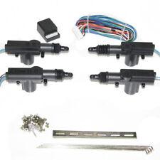 Universal Car Central 4 Door Locking Lock Kit Security Electrical Motor