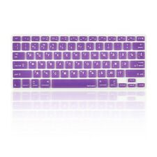 """Russian / English PURPLE Silicone Keyboard Cover for Macbook Pro 13"""" 15"""" 17"""""""