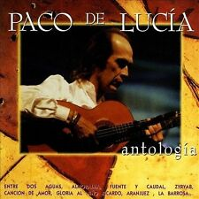 Antologia by Paco de Lucía (CD, 1995, 2 Discs, Universal/Mercury)
