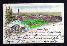 114143 AK Herbolzheim Litho 1900 Panorama Rathaus Kirche Verlag Lith. Pfaff Lahr