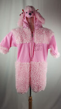 Baby Toddler Girls 2T WARM PINK POODLE COSTUME w/ Hood Adorable EUC