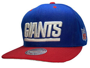 New York Giants Mitchell And Ness NFL Vintage Collection Snapback Cap