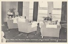 Postcard - Weston Super Mare - View from the Drawing Room, Somerset Legion House