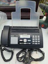 More details for philips magic 5 voice fax machine & telephone (plain a4 paper sagem ppf675 eu10)