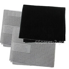 Cooker Hood Filters Kit for LEISURE Extractor Fan Vent Grease Carbon Filter