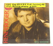 Rene Froger - Maxi-CD - Are You Ready For Loving Me - Until Tomorrow - 142.388-3
