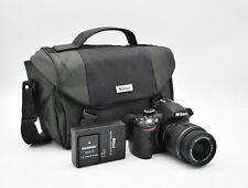 Nikon D3200 Digital SLR Camera with Nikkor 18-55mm 1:3.5-5.6 GII Lens And Extras