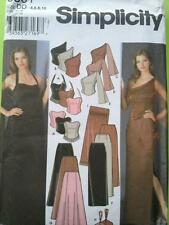 Simplicity Sewing Pattern 5301 Mises Ladies Evning Tops Skirts Shawl Purse 4-10