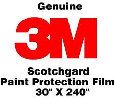 "Genuine 3M Scotchgard Paint Protection Film Bulk Roll Clear Bra 30"" x 240"""