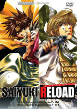 Saiyuki Reload . The Complete Series Collection . Anime . 7 DVD . NEU