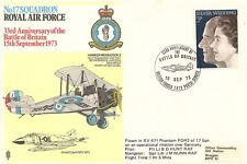 LETTRE AVIATION ROYAL AIR FORCE BATTLE OF BRITAIN 1973