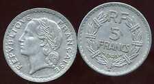 5 francs  LAVRILLIER  ALU 1946 B     ( bis )