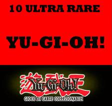 YU-GI-OH! LOTTO 10 ULTRA RARE