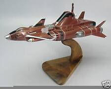 Skydiver-1 SHADO UFO Spacecraft Mahogany Kiln Dry Wood Model Large New