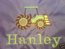 Personalised Tractor School/PE/Gym/Baby/Drawstring Bag