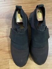 Adidas Mens CrossKnit Spikeless Golf Shoes Black/Black Orig $150 Size 8.5M
