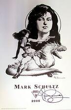 Lee's Comics MARK SCHULTZ fine art print Xenozoic Tales, 2005 SIGNED EDITION!