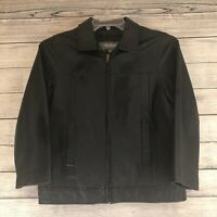 Wilson's Kids XL Leather Jacket—Black, Classic Styling Thinsulate Lined