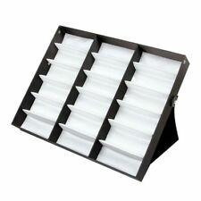 18 Grid Eyewear Eyeglasses Storage Box Organizer Glasses Display Case Holder
