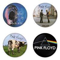 Pink Floyd - 4 chapas, pin, badge, button
