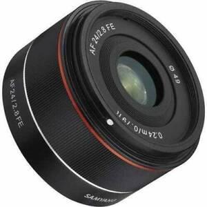 Samyang 24mm f2.8 lens for Sony E mount
