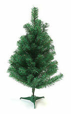 DLUX Mini 2-Ft Christmas Tree Artificial Pine, Unlit-Green GUARANTEED DELIVERY