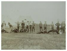 More details for antique military rppc postcard electrical engineers camp nothe fort 1909