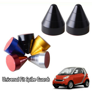 5 Color Universal Bump Protector Spike Guards For Most Car Front & Rear Bumpers
