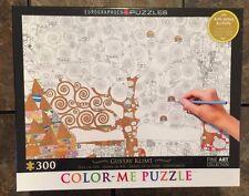 Color Me Puzzle 300 Piece Pc Gustav Klimt Tree of Life BNIB Grown Up Anti Stress