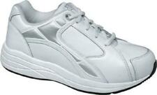 $155 Drew Shoes Womens MOTION Athletic 7.5WW Extra Wide White Diabetic Orthotic