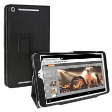 Schutz Tasche für Asus MeMO Pad 8 ME581C Case Hülle Cover Leder-Optik schwarz
