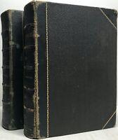 1872 DAVID COPPERFIELD WORKS OF CHARLES DICKENS 2 VOL ILLUSTRATED CRUIKSHANK 5 6